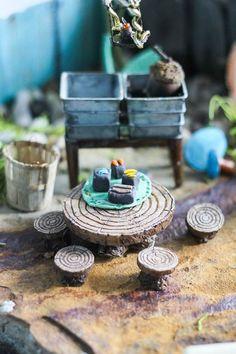 Pretty DIY Fairy Garden Outdoor Ideas 40