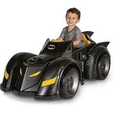 Kids Ride On Batman Car Battery-Powered Toddler Outdoor Fun Toy Batmobile New Batman Car, Batman Batmobile, Batman Logo, Batman Toys For Kids, Kids Ride On Toys, Kids Toys, Children Play, Cars 3 Lightning Mcqueen, Batman Birthday