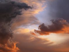 Autumn clouds over Vila-real, by Robert Anyo