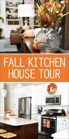 Kitchen Fall House Tour 2017 - How to Nest for Less™