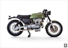 """Custom of The Week: 'Bottle O' Smoke' by La Busca Motorcycles """" Jez from La Busca Motorcycles does like a Guzzi, which is handy as we like featuring them. That v-twin motor is so good looking it can..."""