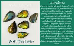 LABRADORITE Crystal Meaning and Uses #ARTificiaLondon #Labradorite…