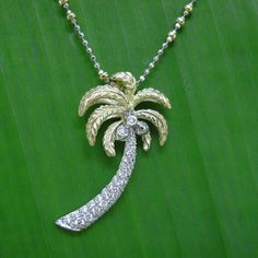 Denny Wong 14K Palm Tree Pendant-Need to add this to my collection:)