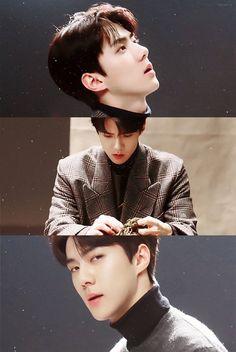 Sehun, Park Chanyeol, Dorian Havilliard, Grid Wallpaper, Hunhan, Kim Junmyeon, Xiu Min, Bts And Exo, Exo Members