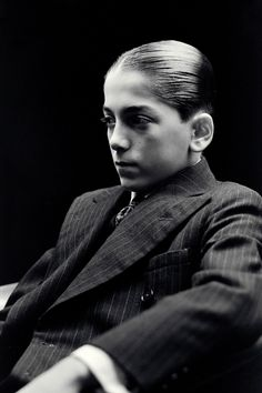 Bugsy Malone starring the beautiful boy, Scott Baio. My favorite movie when I was young. Talluah and Bugsy.