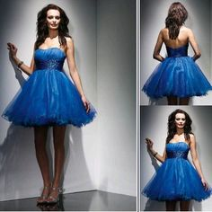 short Royple graduation dresses