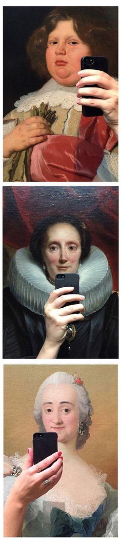 El arte de las selfies. #humor #risa #graciosas #chistosas #divertidas