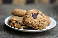 Easy Peasy Organic | recipes to change your world : Chunky Chocolate Nut Cookies{ralace sugar with maple syrup/honey}