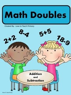 A very visual Common Core Math Doubles product to increase Math Fluency. Common Core: Operations & Algebraic Thinking Includes: Posters, Pictures, Flashcards, Bookmarks, Games, Award Certificate and more!