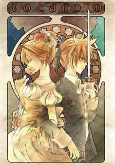 Rin and Len Kagamine. Th Daughter of Evil and the Servant of Evil