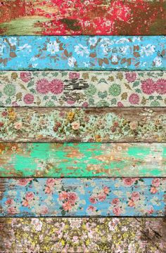 How to Transfer Vintage Wallpaper, Pictures and Almost Anything on Wood Wall…
