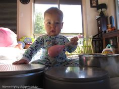 Learn with Play at Home: Baby Play: Rat-a-tat Tins