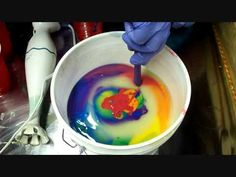 Using the In The Pot Method, watch how I swirl 6 colors of soap to create a fun and colorful bar.  More information on the soap here: http://www.kbshimmer.com/KaleidoSoap.html