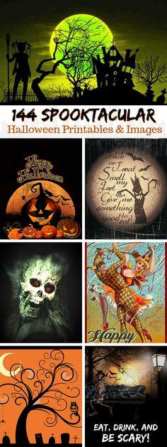 144 FREE Halloween Decor Printables | Art & Home