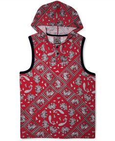 PRPGNDA Shirt, Printed Hooded Tank - T-Shirts - Men - Macy's