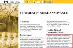 Health Canada Study on Wind Turbine Noise and Health Confliction Wind Turbine, Canada, Study, Health, Studio, Health Care, Investigations, Studying, Salud