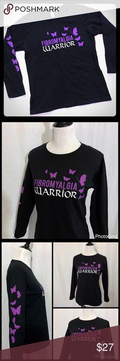 809fb60e Spotted while shopping on Poshmark: Black Fibromyalgia Warrior Tee Shirt!