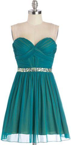 Blue Captivating Charisma Dress