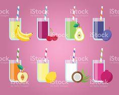Fresh Juices Set by burtsevserge Fresh juices set. Design elements for cafe and restaurant menu. Menu Book, Healthy Drinks, Healthy Eating, Apple Fruit, Menu Restaurant, Free Vector Art, Juices, Design Elements, Concept