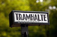 tramhalte bordje