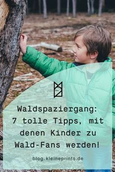 Waldspaziergang: So wird Kindern im Wald garantiert nicht langweilig! Walk through the forest: That's how children in the forest are guaranteed not bored! Montessori Activities, Family Activities, Kindergarten Activities, Diy For Kids, Cool Kids, Parental Rights, Hip Workout, Health Promotion, Getting Bored