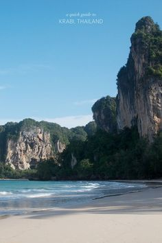 TRAVEL: A QUICK GUIDE TO KRABI