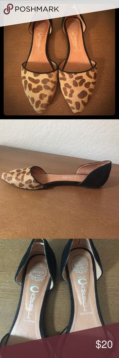 Leopard flats Super cute flats, go with everything! Size 8.5, I wore them once! Jeffrey Campbell Shoes Flats & Loafers