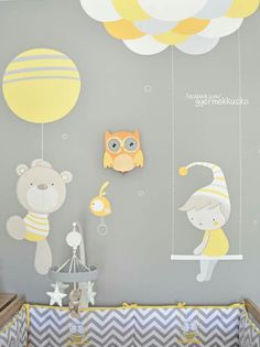 Wall Clock Nursery, Wall Art, Welcome Home Baby, Baby Painting, Ideas Para, Diy And Crafts, Kids Room, Bunny, Scrapbooking