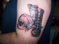 coal mineing boots and hat – Tattoo Picture at CheckoutMyInk.com