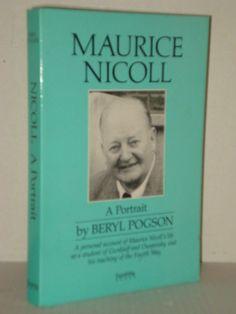 Maurice Nicoll, A Portrait by Beryl Pogson; A Student of Gurdjieff and Ouspensky; Progressive Books - Blogs fah451bks.wordpress.com