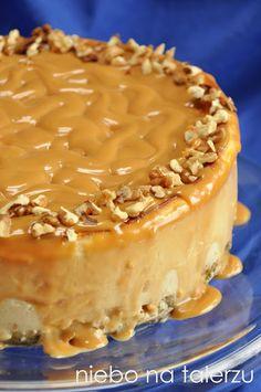 Polish Cake Recipe, Cheesecakes, Cake Recipes, Caramel, Yummy Food, Easter, Baking, Tailgate Desserts, Diet