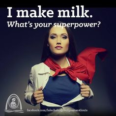 You are a #breastfeeding super hero. Photo via La Leche League of Greater St. Louis