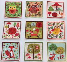 Set of 9 Woodland Animals/Forest Animals by LittleMissyClothing