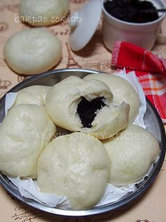 Marmer Cake, Pork Buns, Indonesian Cuisine, Steamed Buns, Asian Desserts, Dim Sum, Food And Drink, Cooking Recipes, Homemade