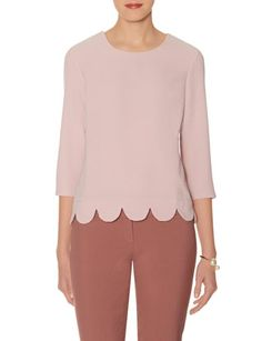 ***Scallop Hem Top from THELIMITED.com