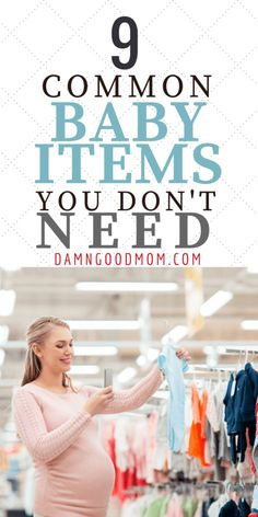 baby items you don't need,  shopping for baby, baby registry, new mom