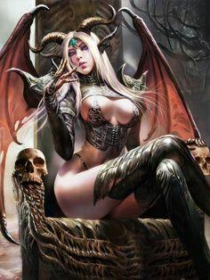 Skulls:  Throne with #skulls.