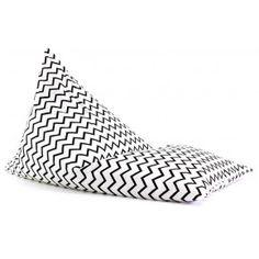 Nobodinoz zitzak XL black zigzag | PSikhouvanjou