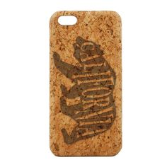 California Bear. Cork Phone Case