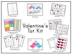 Free Valentine's Day Tot Kit