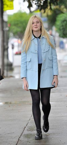 Elle Fanning (December 2012)