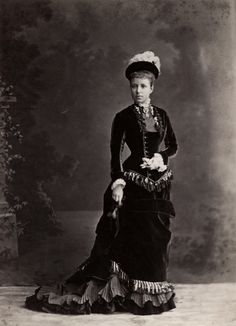 Archduchess Maria Cristina of Austria-Teschen, later Queen Regent of Spain for her son Alfonso XIII (C 1878)