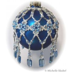 Countess Ornament Cover Pattern - Bead Patterns by Michelle Skobel