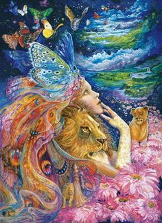 Masterpieces - Josephine Wall - Heart and Soul Jigsaw Puzzle - 1000 pc
