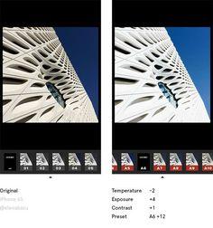 VSCO app editing photo