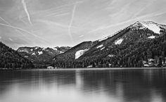 Erlaufsee - Langzeitbelichtung Mountains, Nature, Travel, Long Exposure, Scenery Photography, Naturaleza, Viajes, Destinations, Traveling