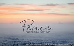 Shareable Images - Women's Self Discovery Network - Peace