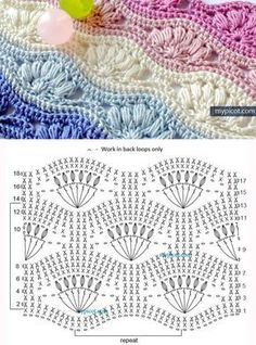 Most current Photographs tunisian Crochet slippers Thoughts Crochet Scrubbies – TUNESISCH HÄKELN Strickmuster häkeln ganz einfach Crochet Motifs, Freeform Crochet, Crochet Diagram, Crochet Stitches Patterns, Tunisian Crochet, Crochet Chart, Diy Crochet, Crochet Designs, Stitch Patterns