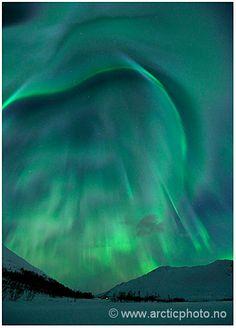 Aurora Borealis - photo by Bjørn Jørgensen - Tromsø, Norway