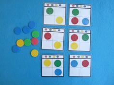 ELBLOGDESAMI.ORG.ATENCIÓN CIRCULOS .1.2. Visual Perceptual Activities, Educational Activities, Preschool Activities, Math Games, Diy For Kids, Crafts For Kids, Maths Area, Material Didático, Special Education